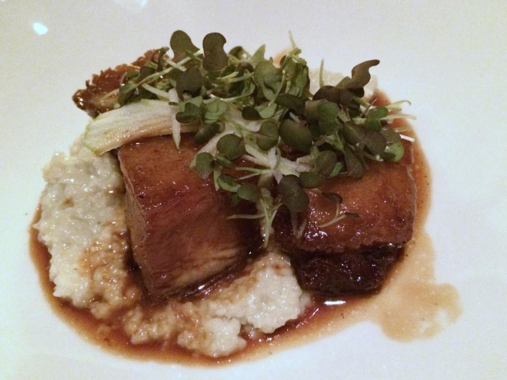 Roast Pork Belly Appetizer