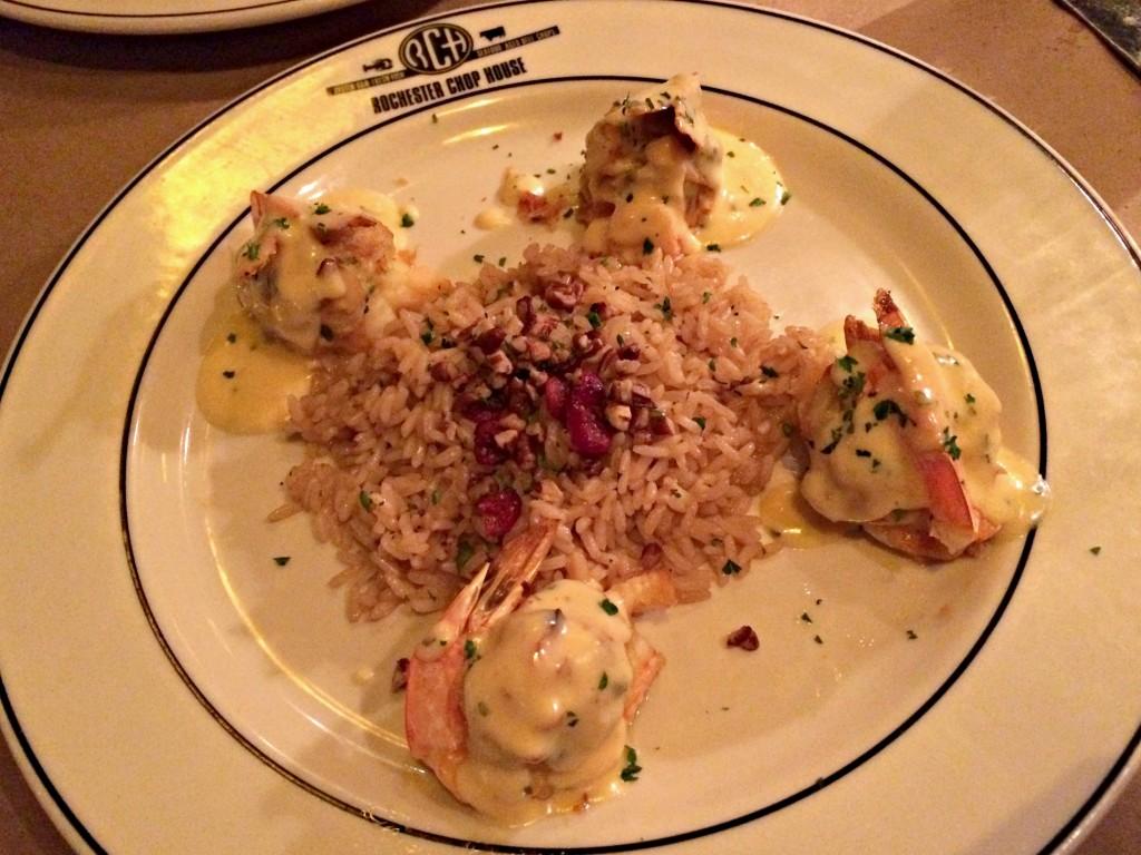 Rochester Chop House Stuffed Shrimp