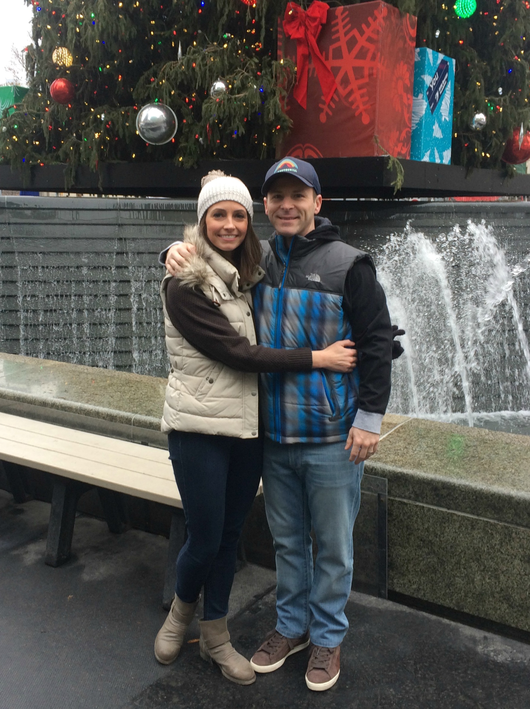 Scott and I at Thanksgiving Day Parade