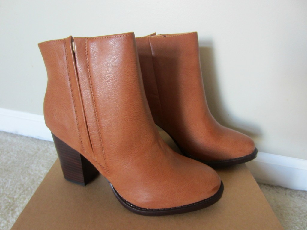 Urban Outfitters booties - Silence + Noise Half-Stacked Heeled Ankle Boot