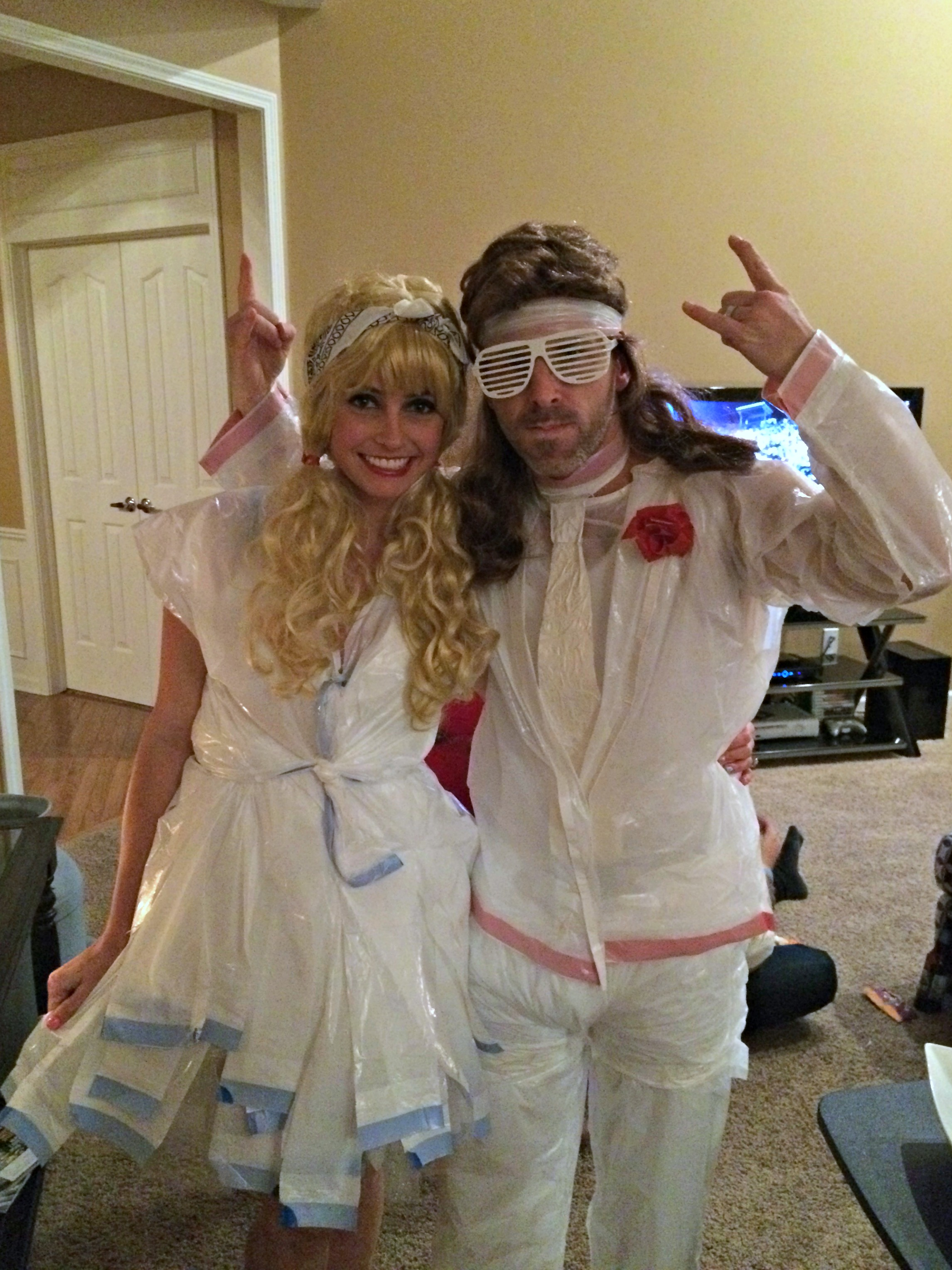 White Trash Prom DIY Halloween Costume