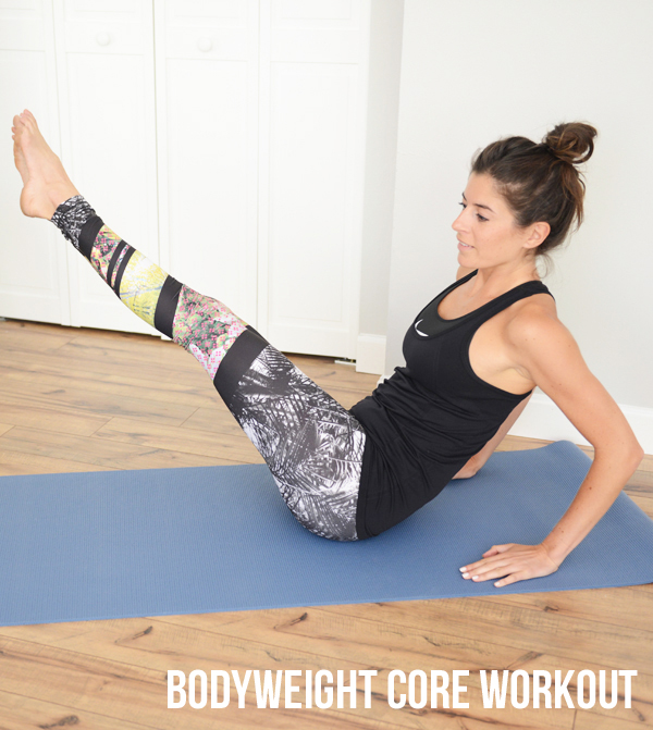 At-Home Bodyweight Core Workout