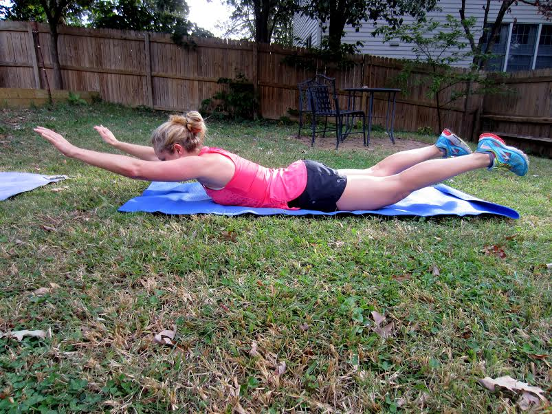 faanetastic food 5 minute core workout for runners