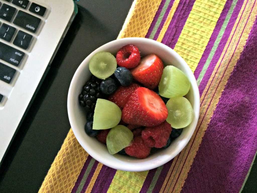fruit bowl healthy snack