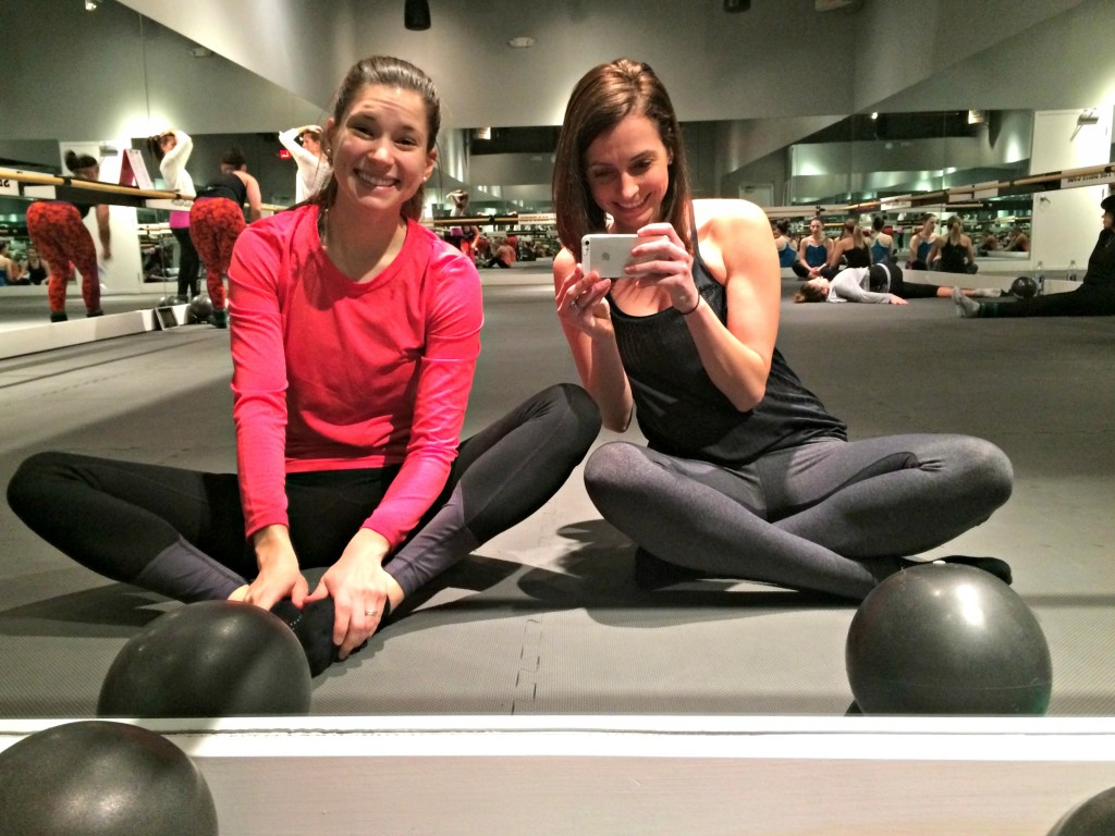 heather and alex at the barre code