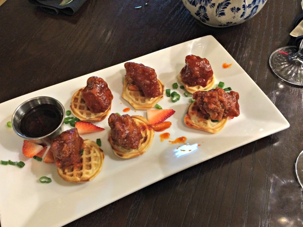 mad hatter bistro chicken and waffles
