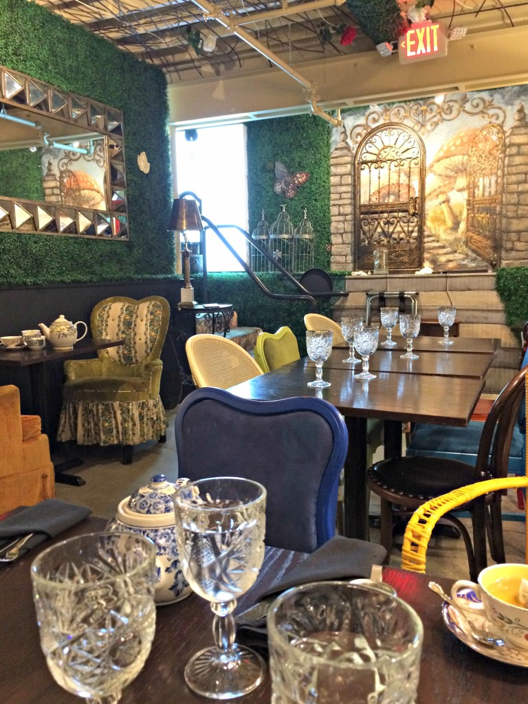 mad hatter bistro garden tea room