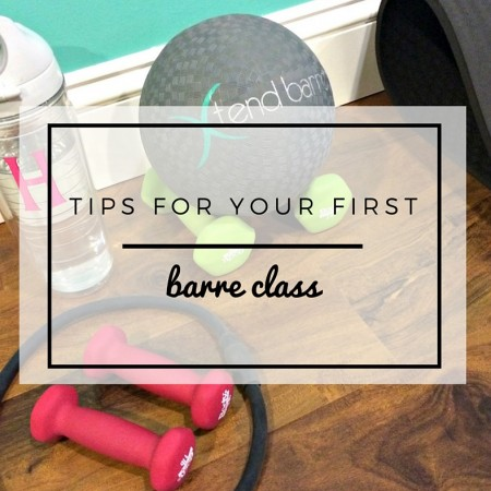 tips for your first barre class