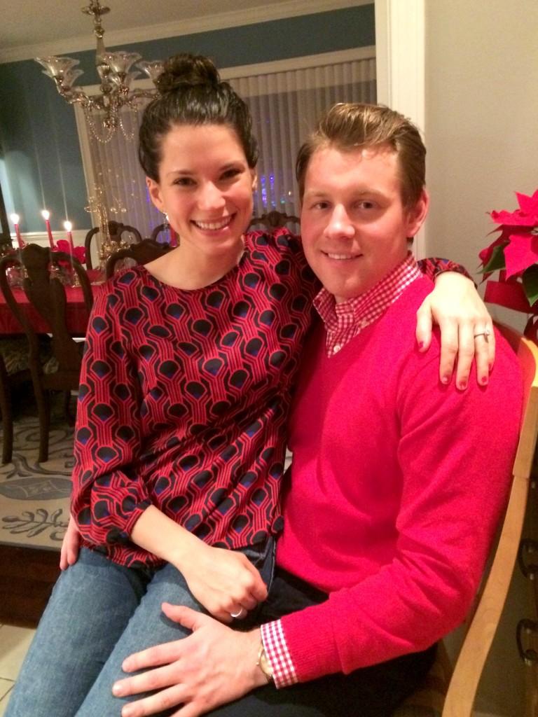 Alex and Alex christmas eve
