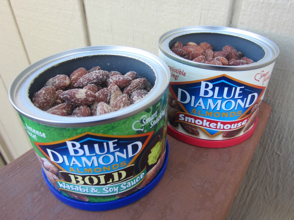 Blue Diamond Almonds BOLD wasabi & soysauce and Smokehouse
