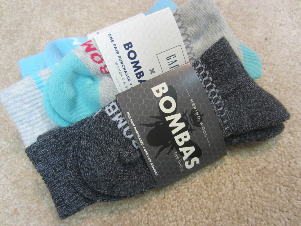 Bombas Merino Wool and Gap Socks