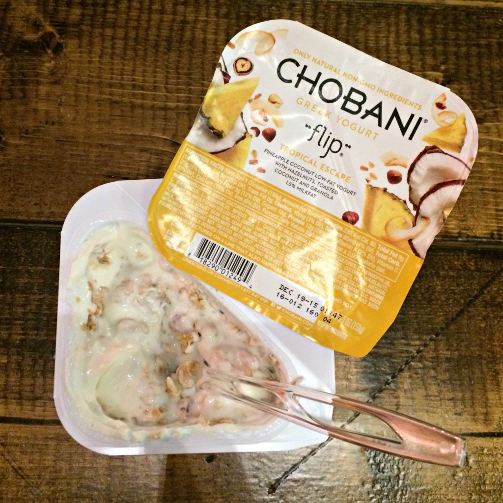 Chobani Greek Yogurt Tropical Escape Flip