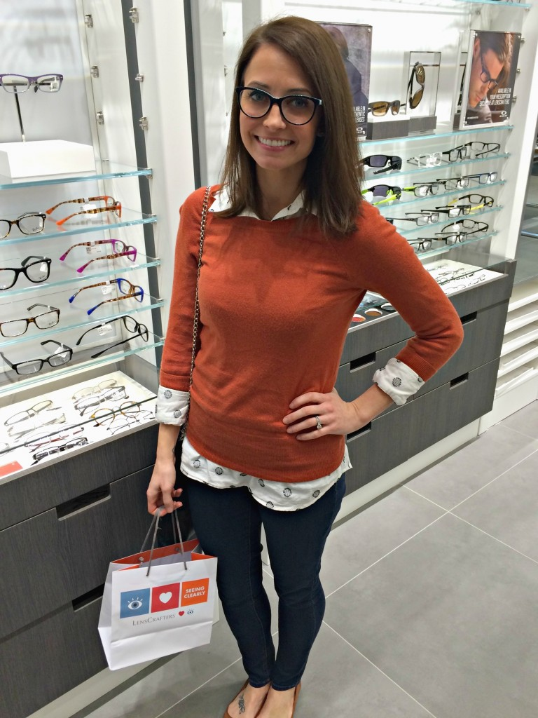 LensCrafters - Heather in Tiffany and Co frames