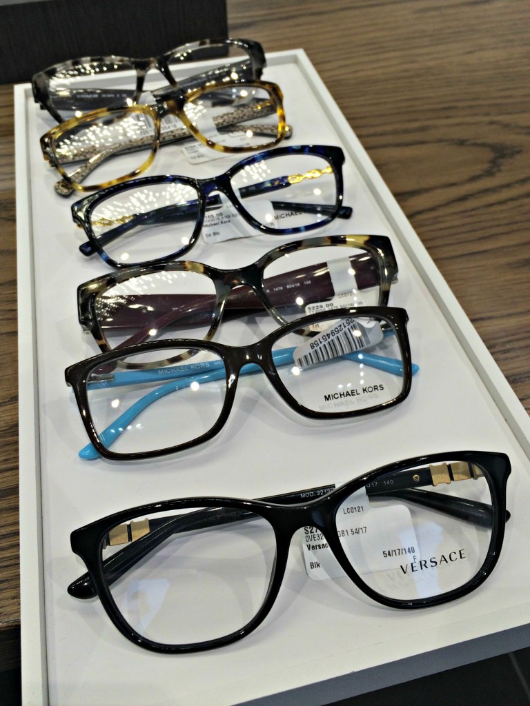 LensCrafters designer glasses