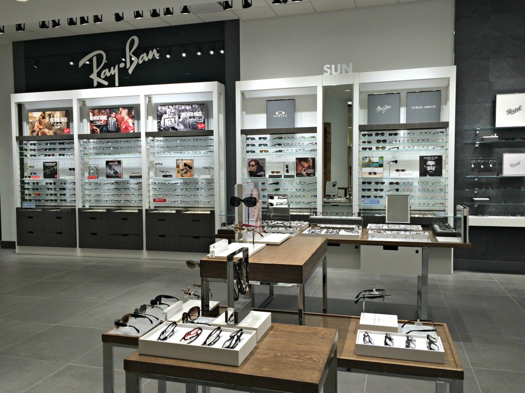 LensCrafters eyeglasses selection