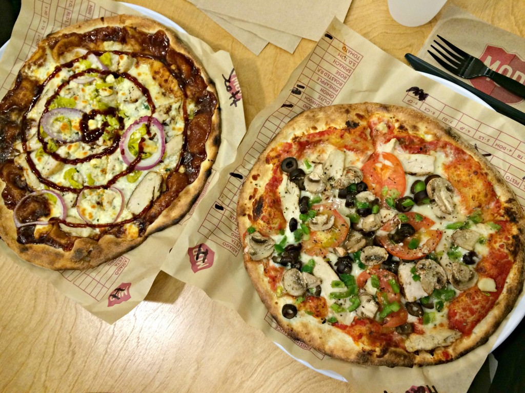 MOD pizza - build your own pizzas