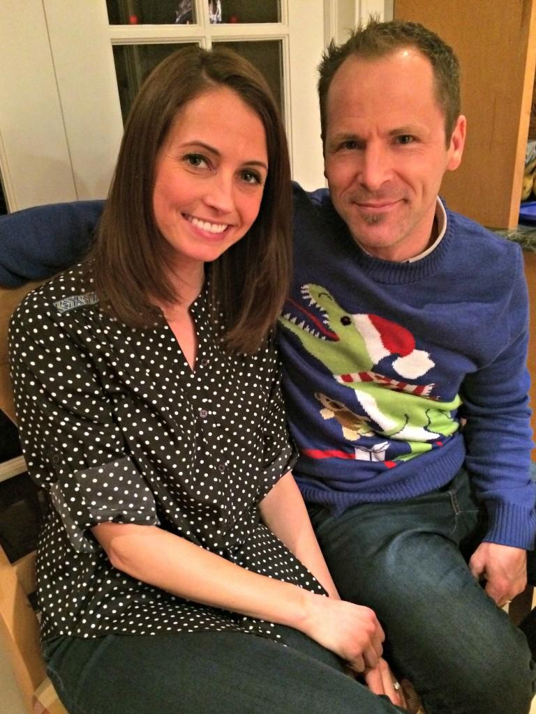 Scott and Heather Christmas Eve