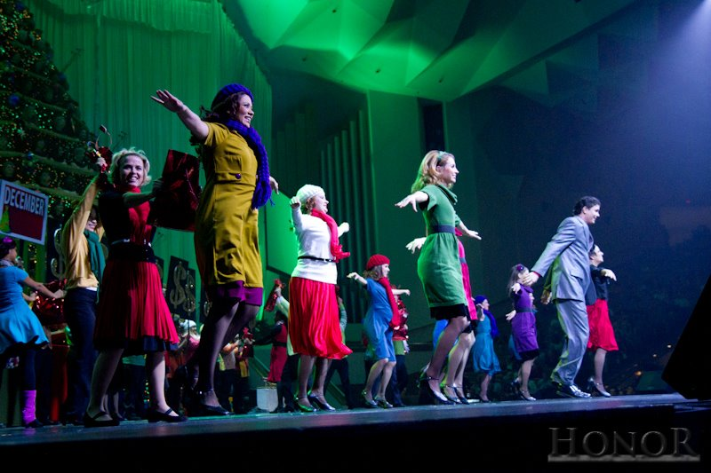 dancing in the singing christmas trees 2011