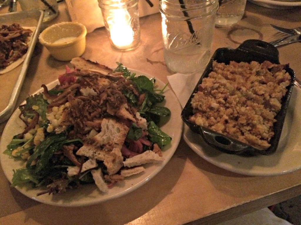fenton firehall salad and cornbread stuffing