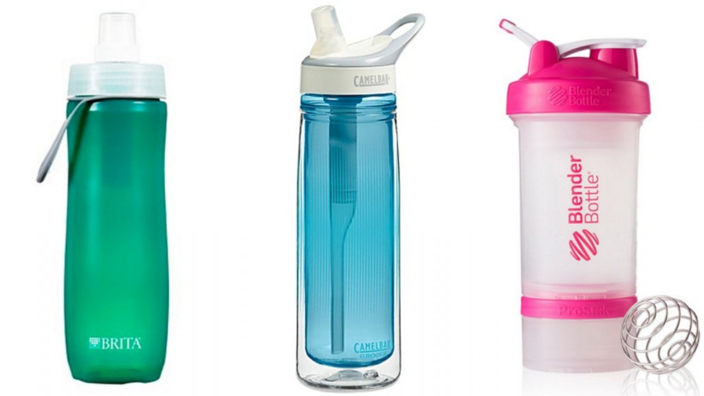 fitness water bottles