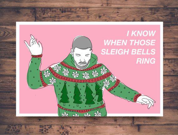 funny drake christmas