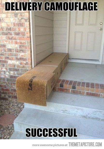 funny package delivery
