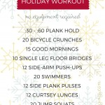 No Excuses At-Home Holiday Workout