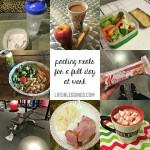 What I Ate Wednesday #107 (Prepping Meals For Work)