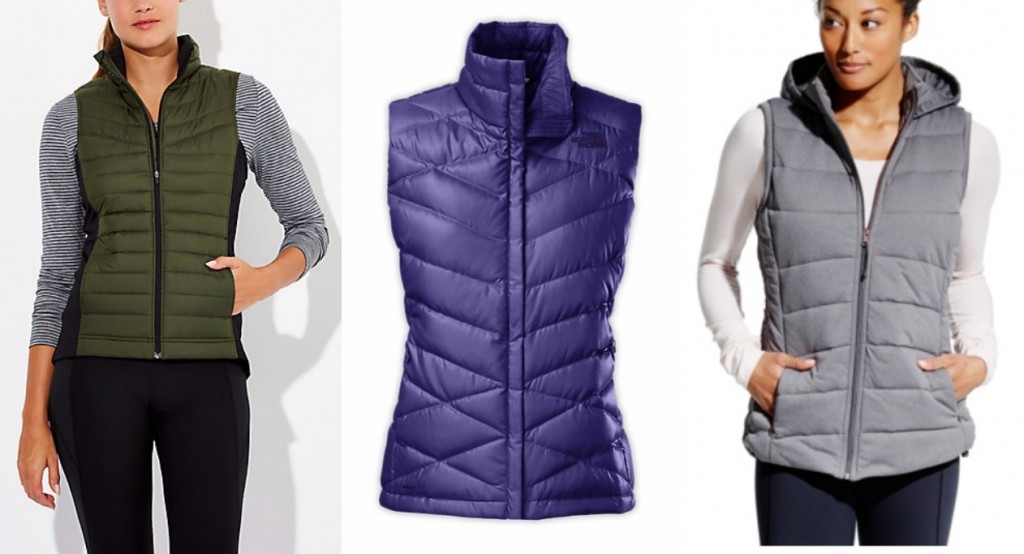 puffer vests activewear