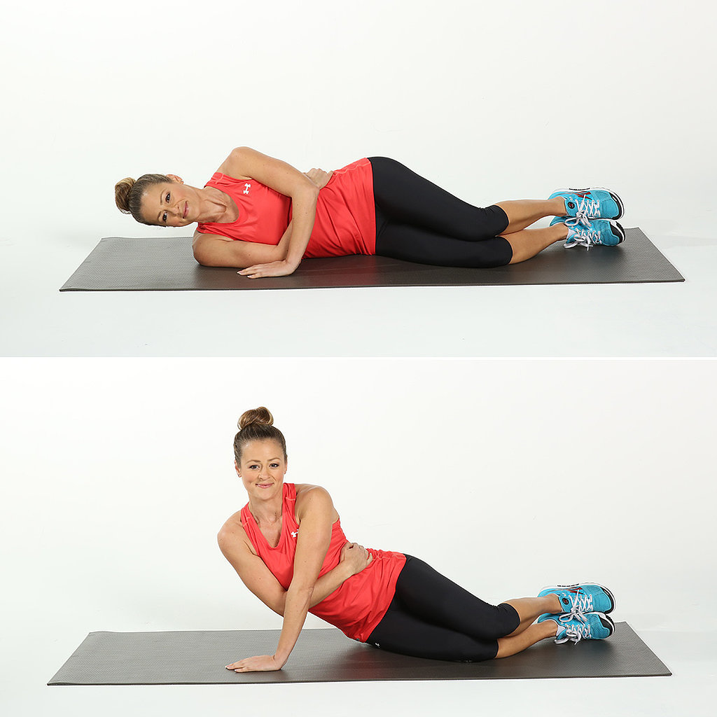 side-arm push-ups exercise