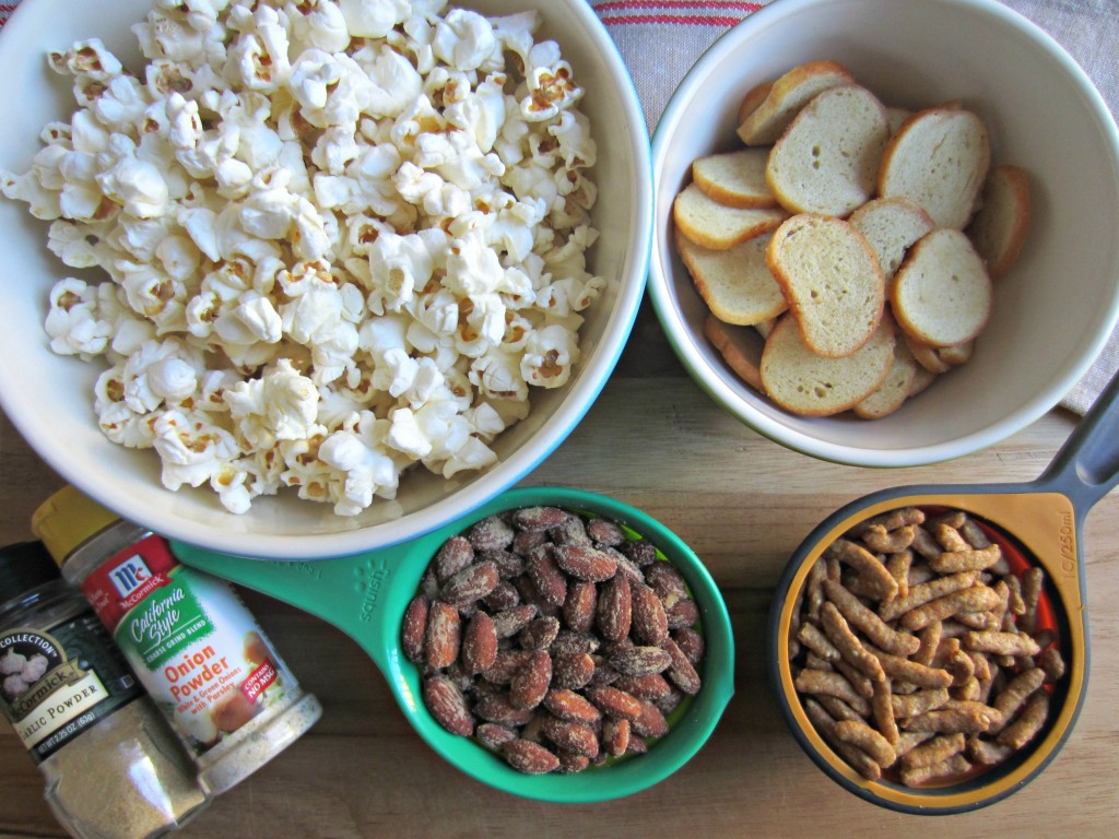 wasabi almond and popcorn mix ingredients