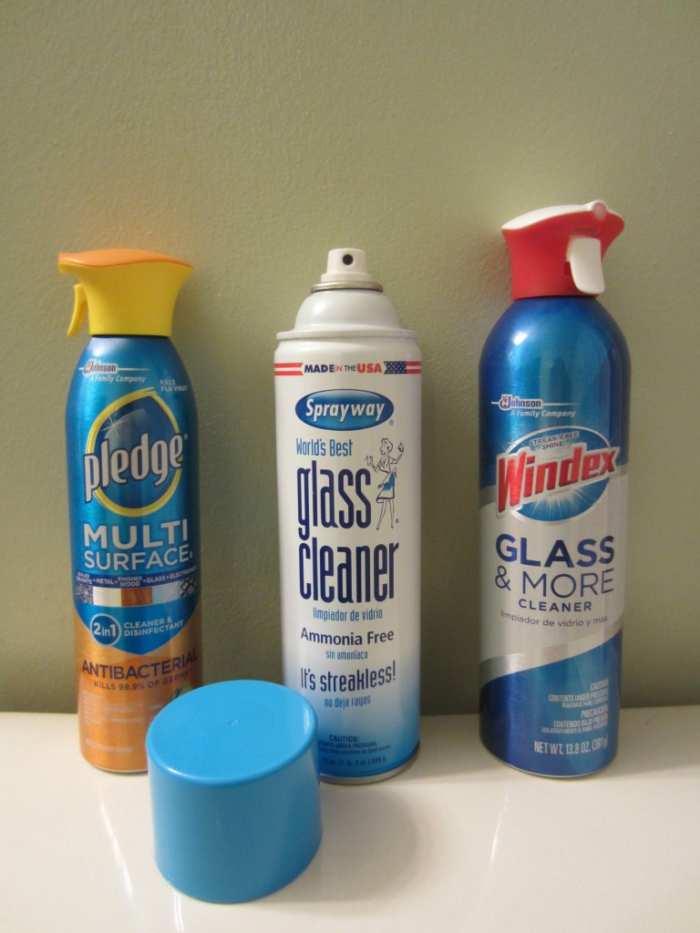 word's best glass cleaner and aerosol cleaners