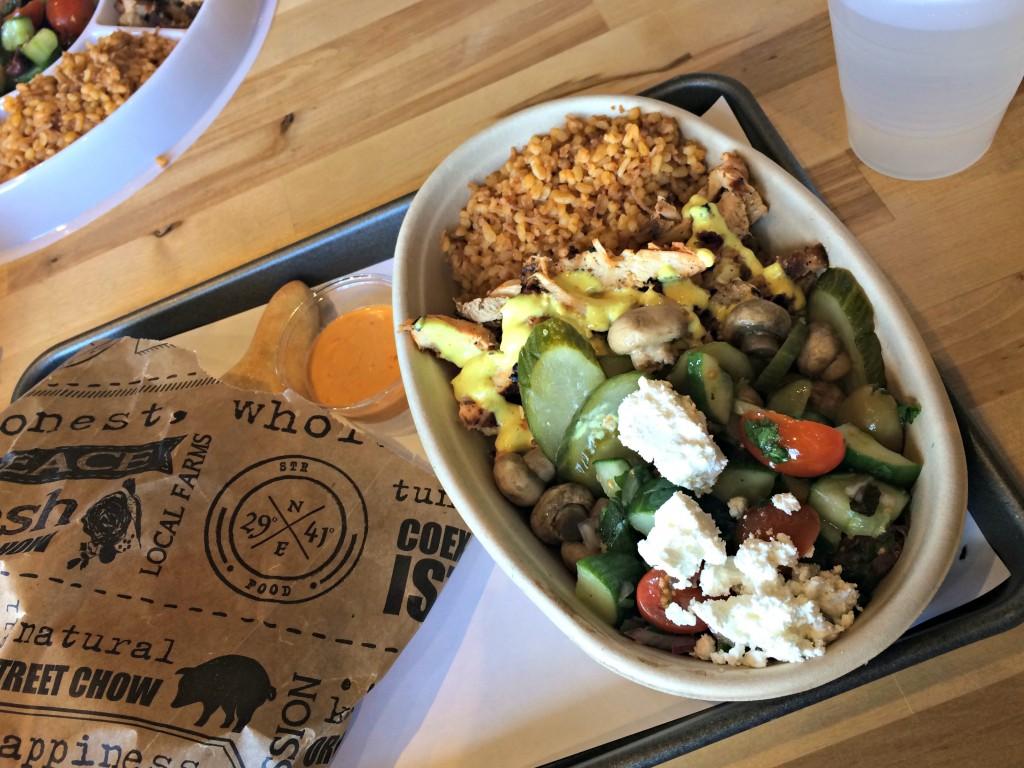 2941 Mediterranean Street Food Bowl