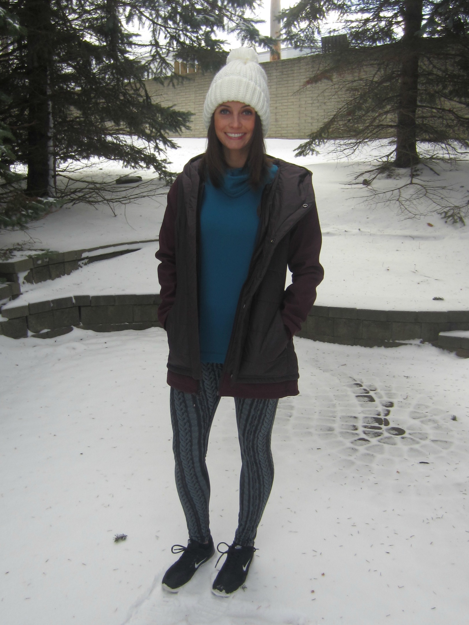 CALIA Cold Weather Workout Clothes