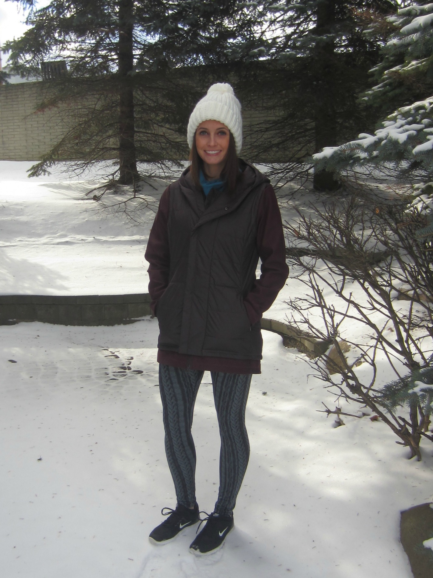CALIA by Carrie Winter Coat and Beanie