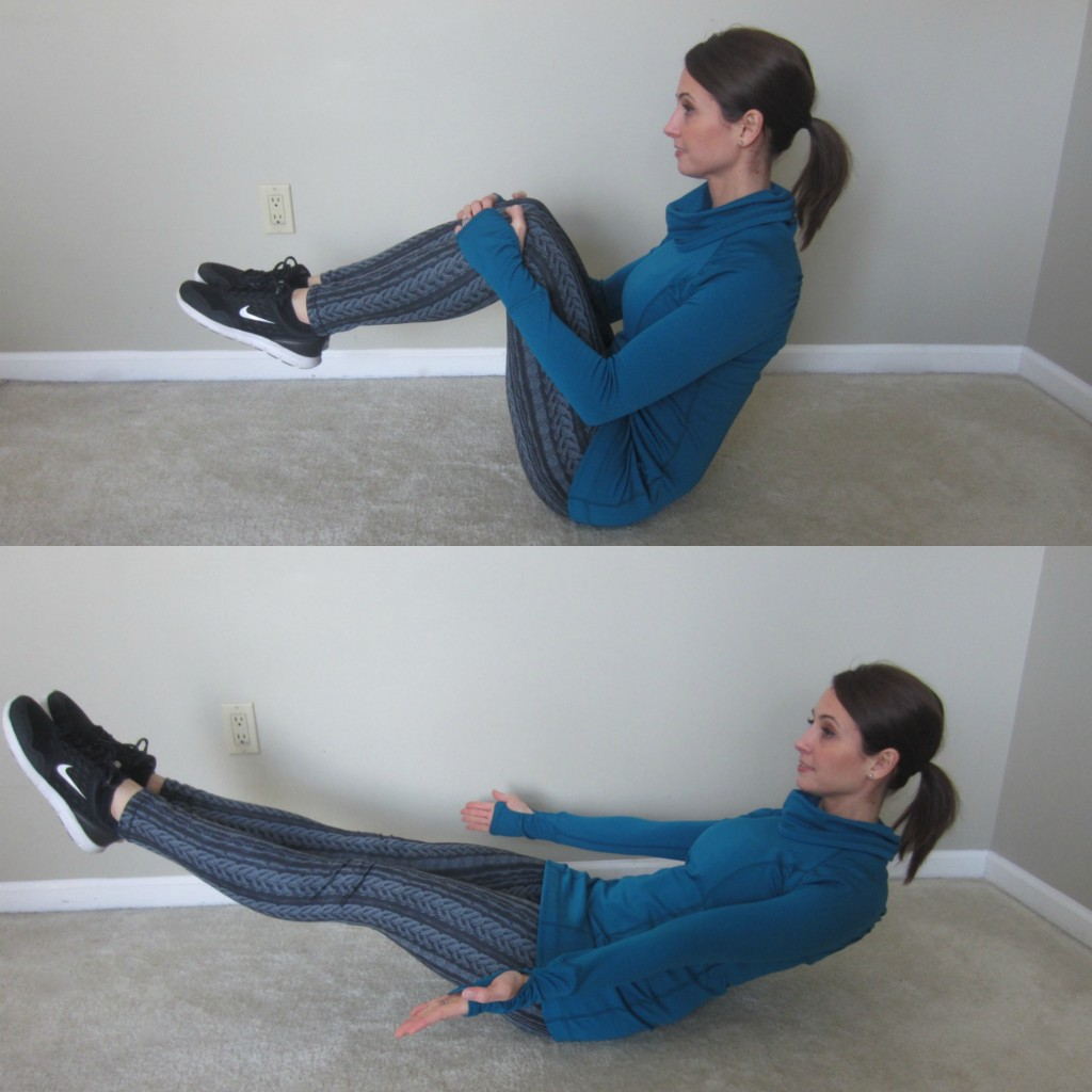 Crunchy Frog Ab Exercise