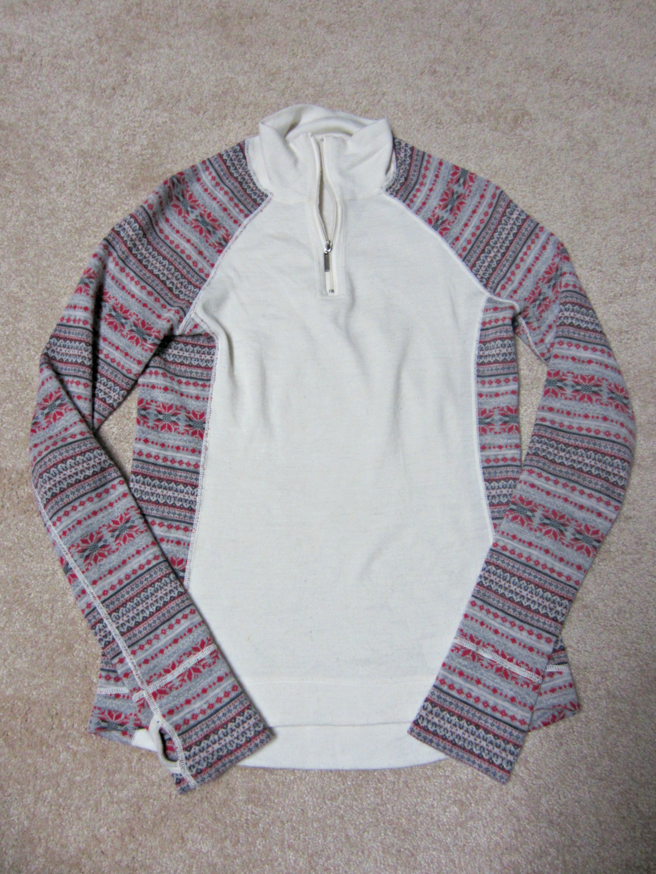 Dakini 1/4 zip sweater