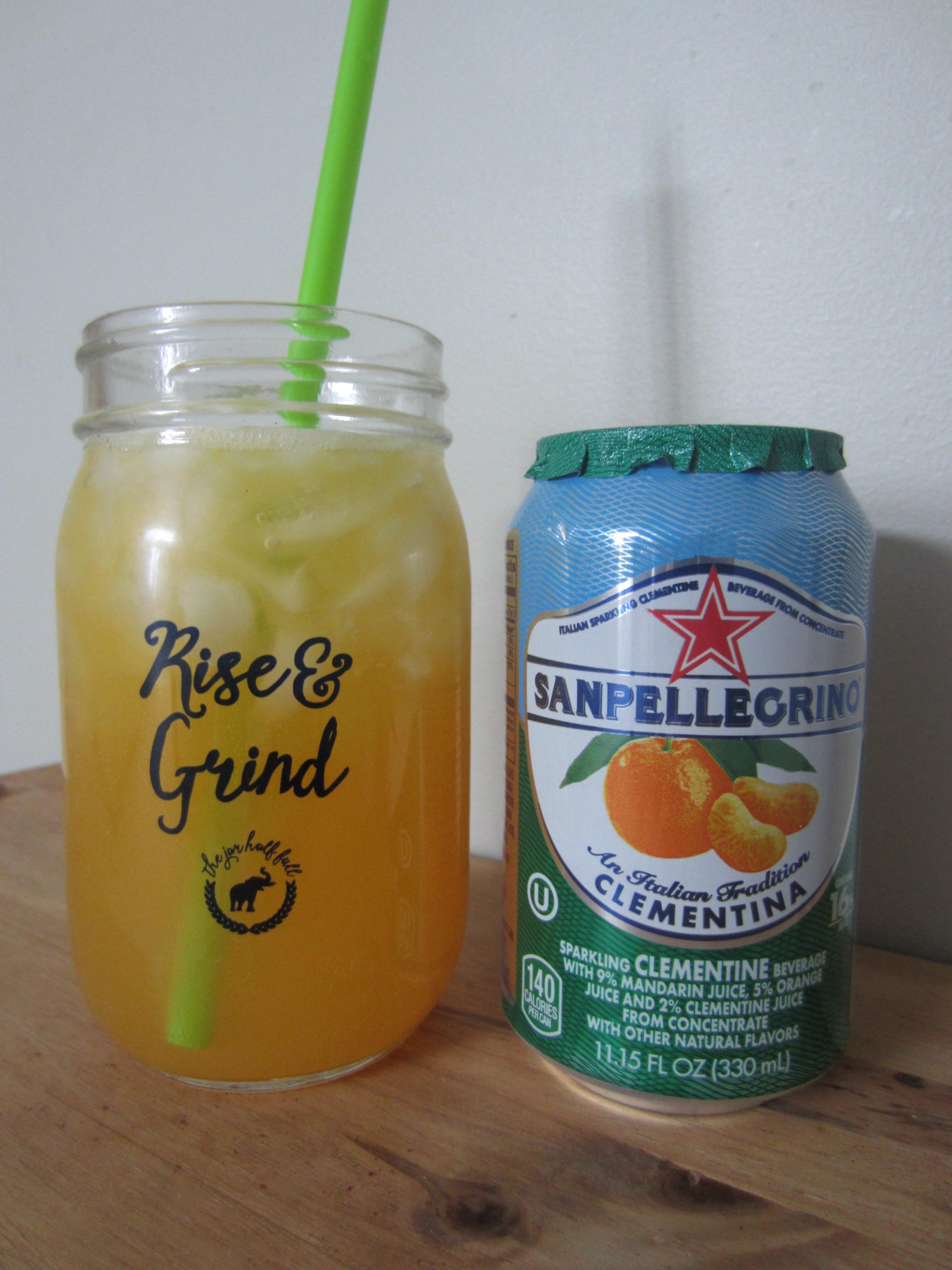 Sanpellegrino sparkling clementine juice