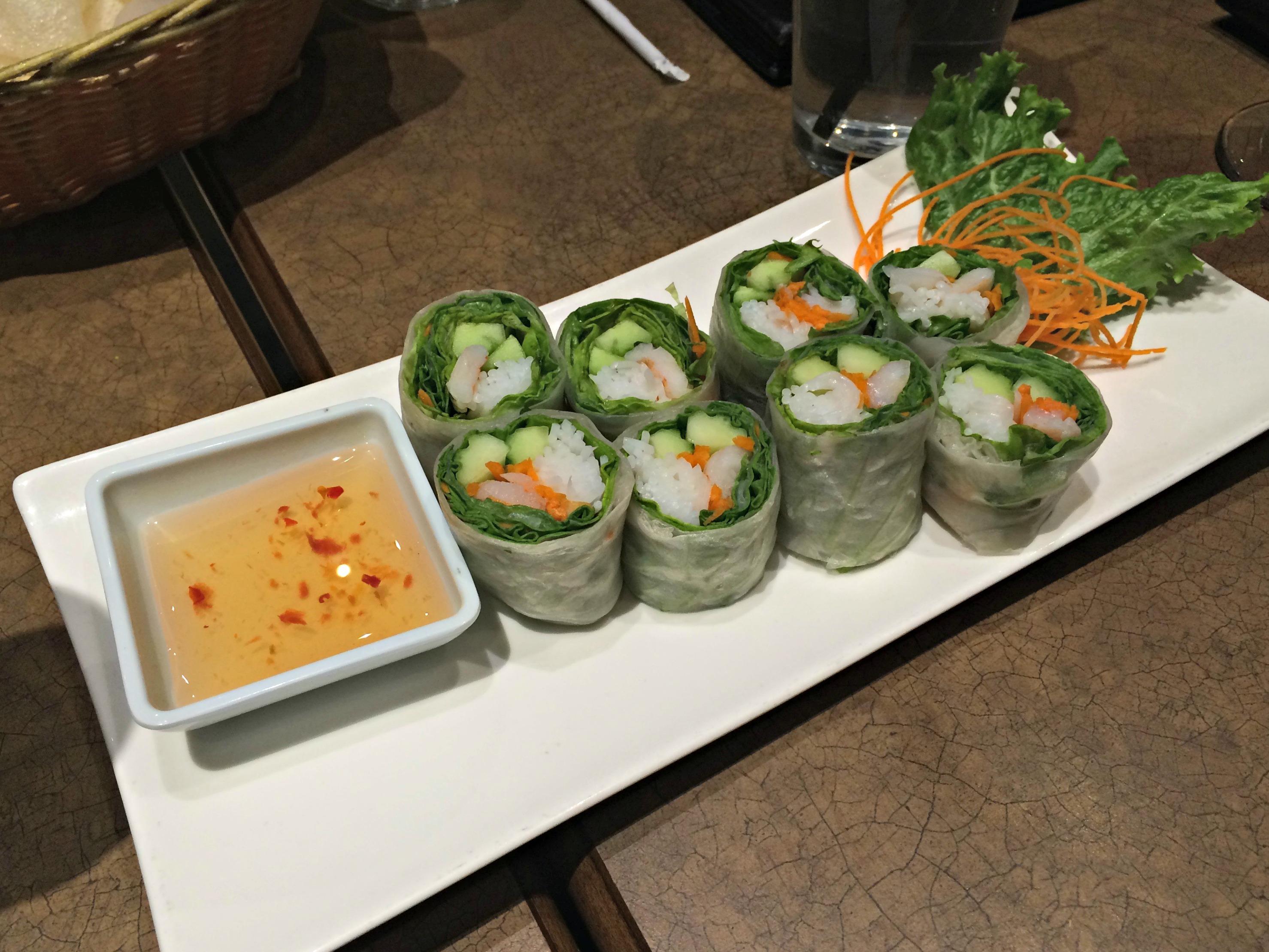 Sy Thai Fresh Rolls