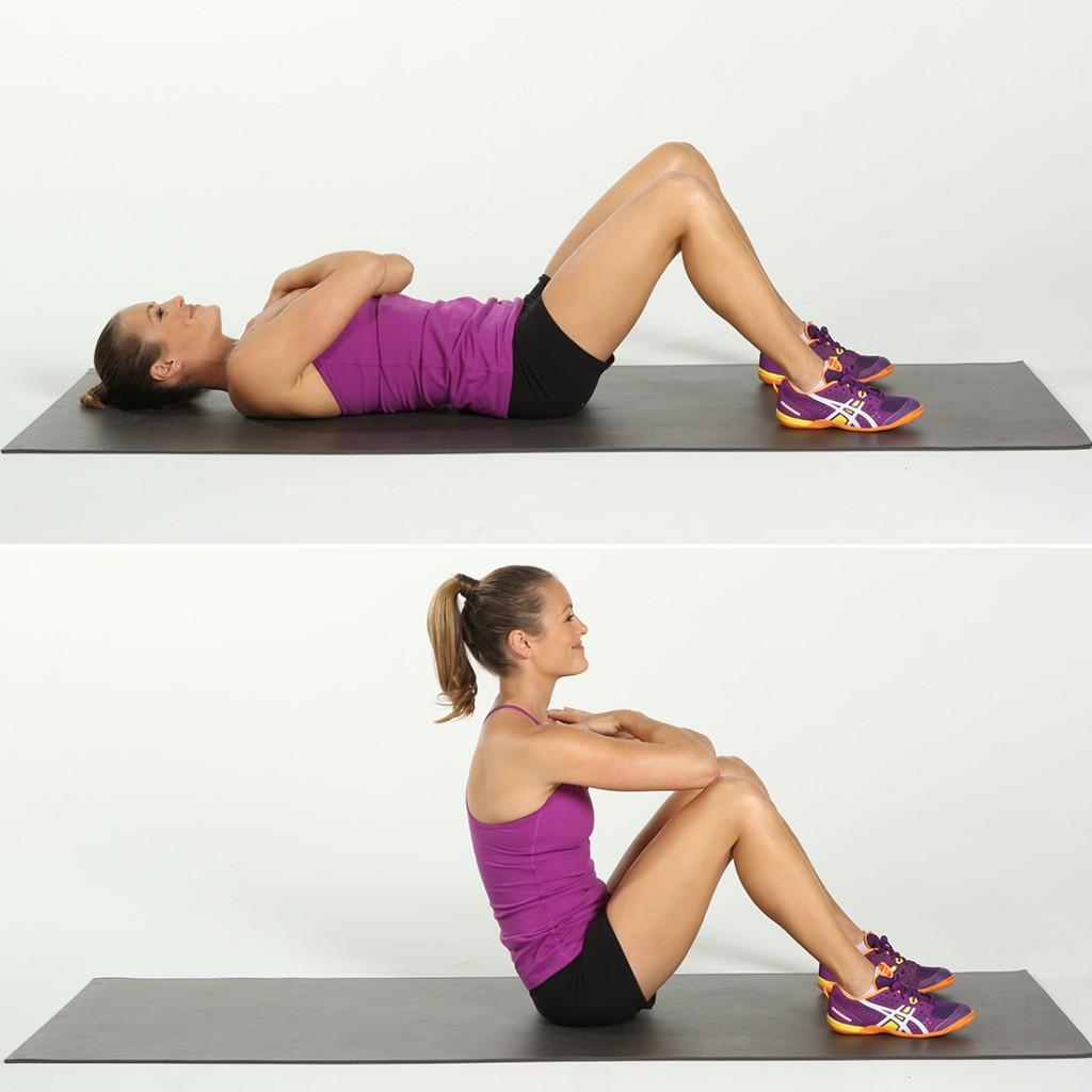 full sit ups exercise