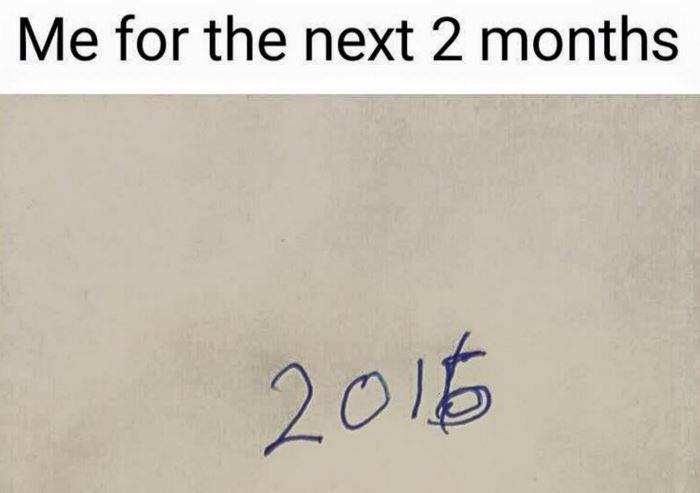 new year struggles