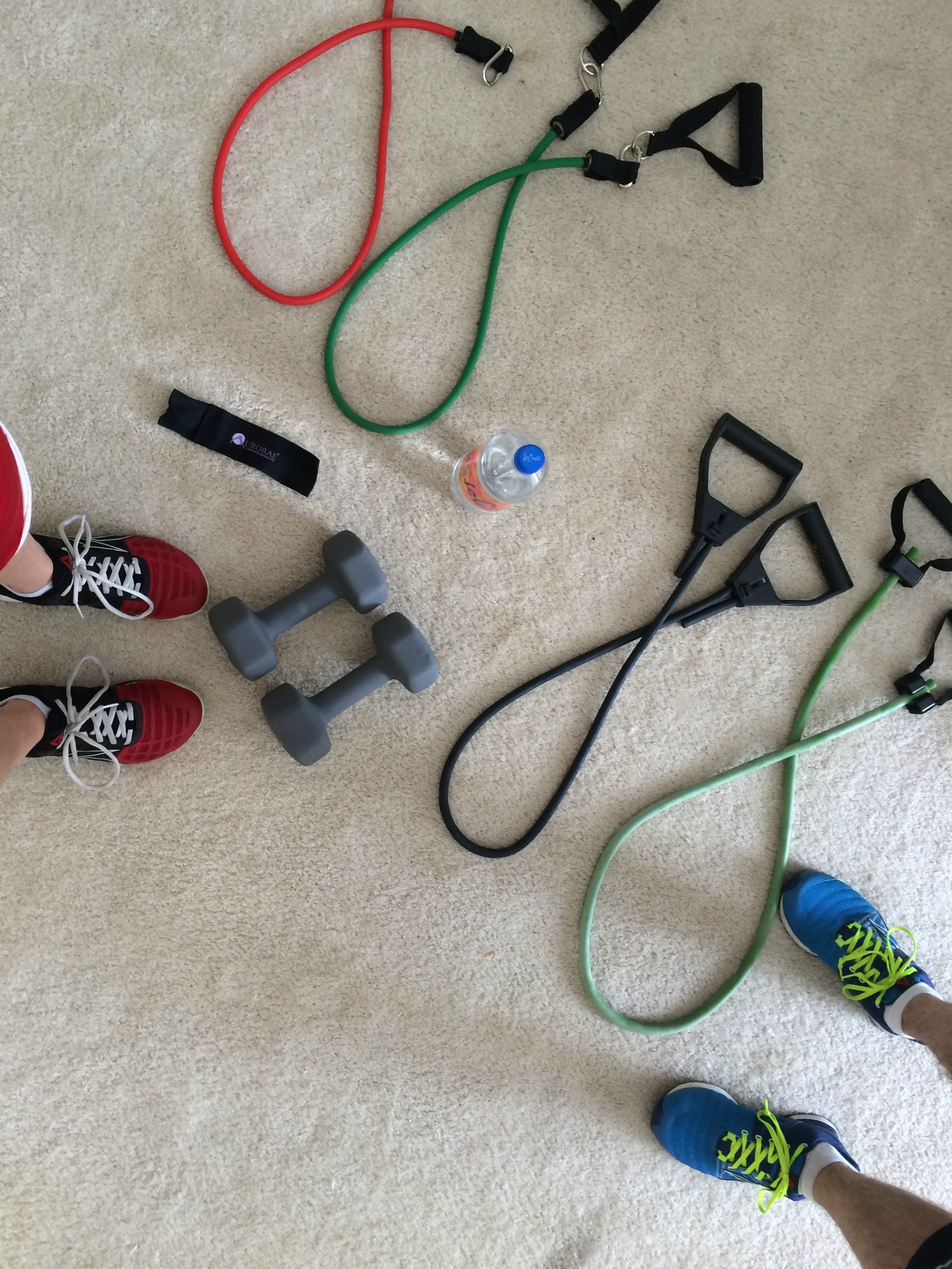 p90x workout with resistance bands and weights
