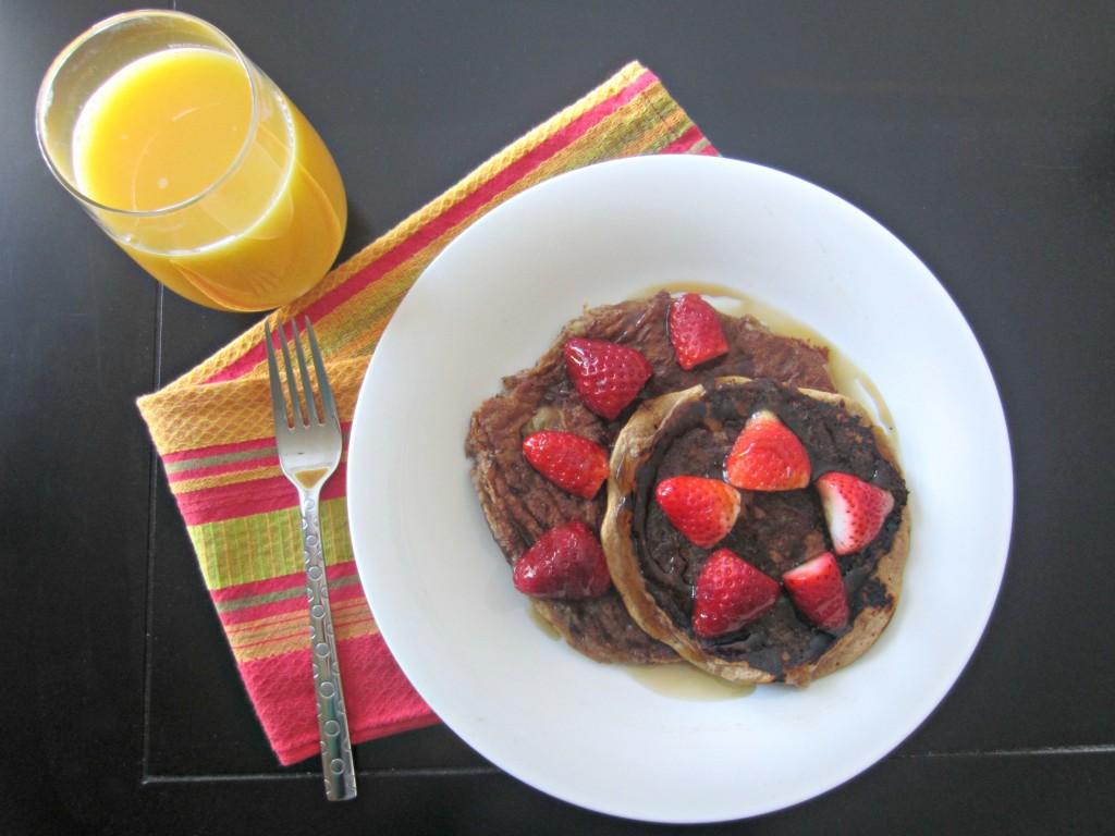 protein pancakes breakfast