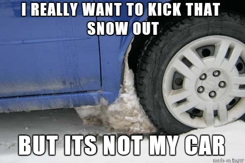 snow funny
