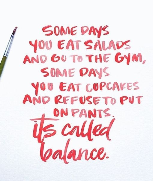 some days you eat salads