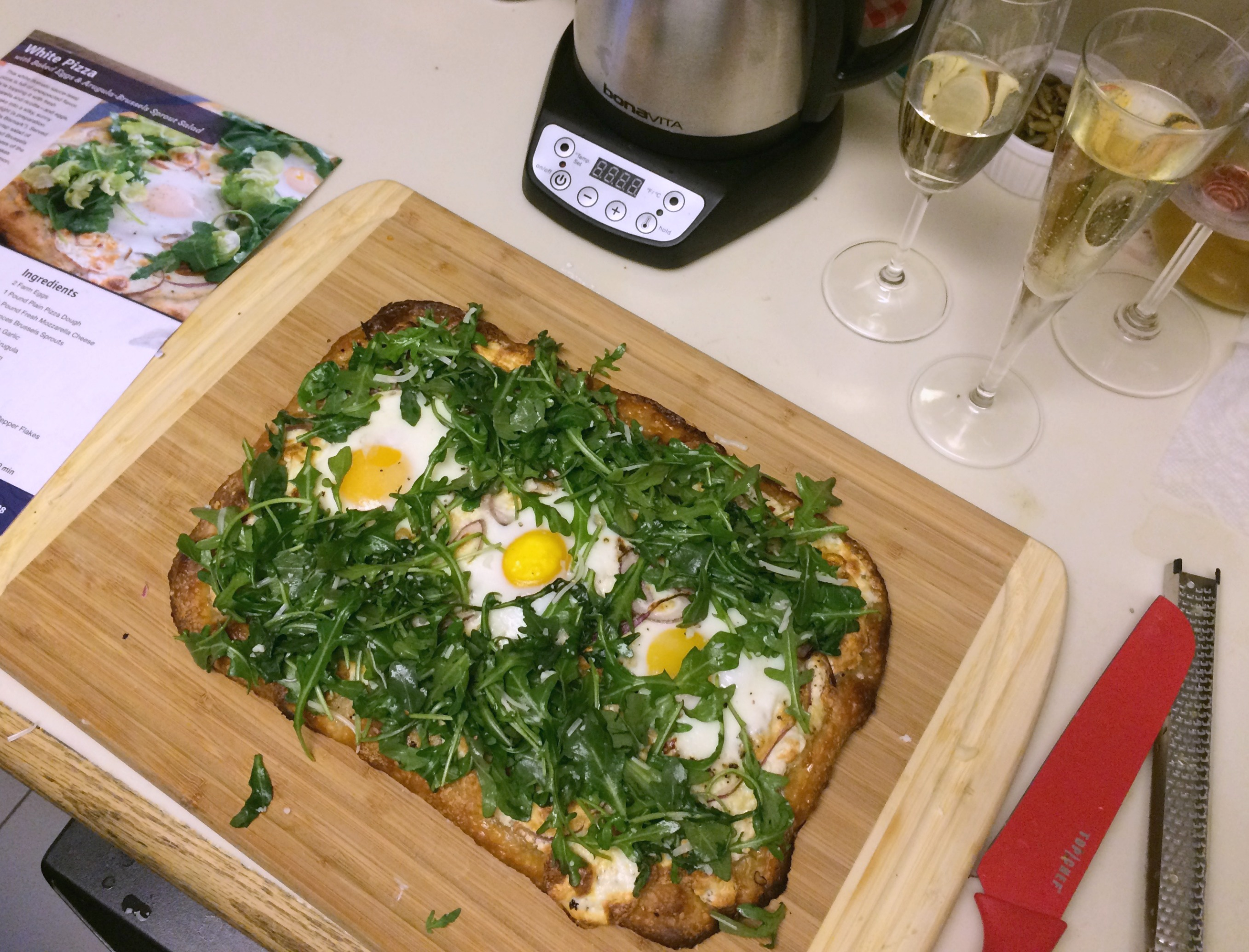 Blue Apron White Pizza