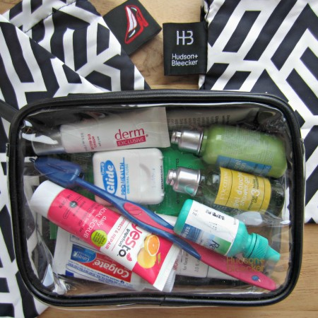 Hudson Becker toiletry bag