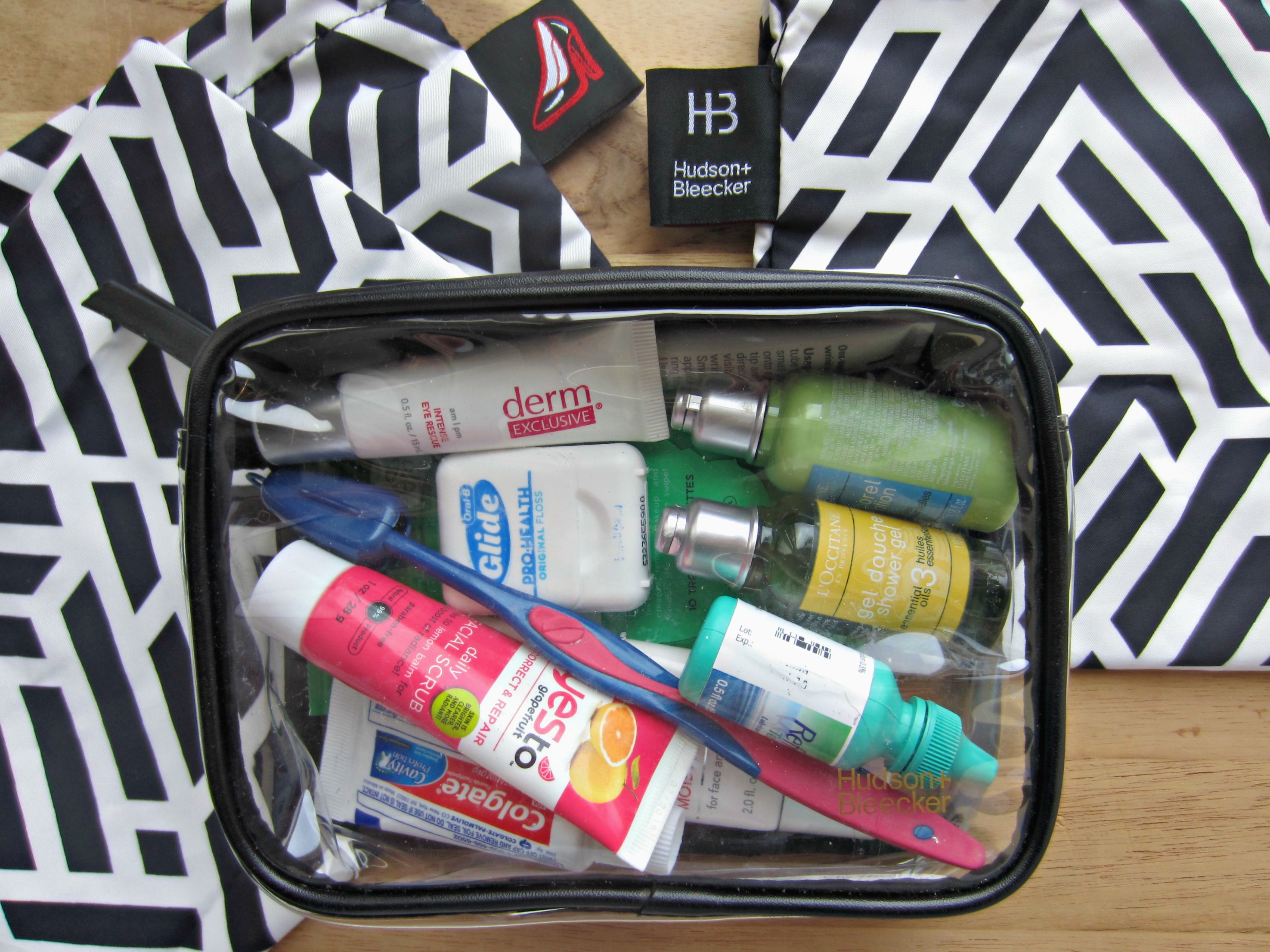 Hudson + Bleecker toiletry bag