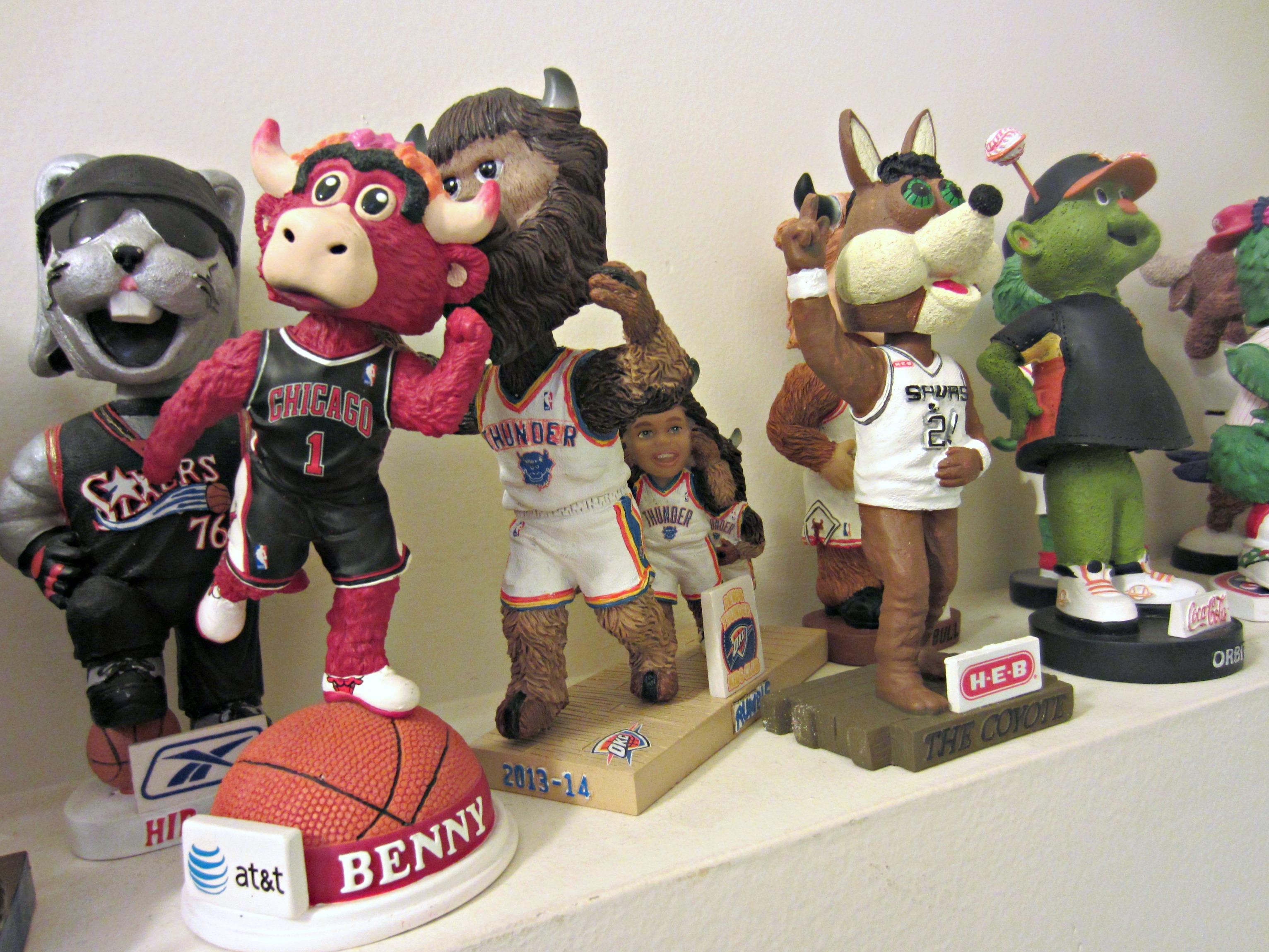 NBA Mascot Bobbleheads