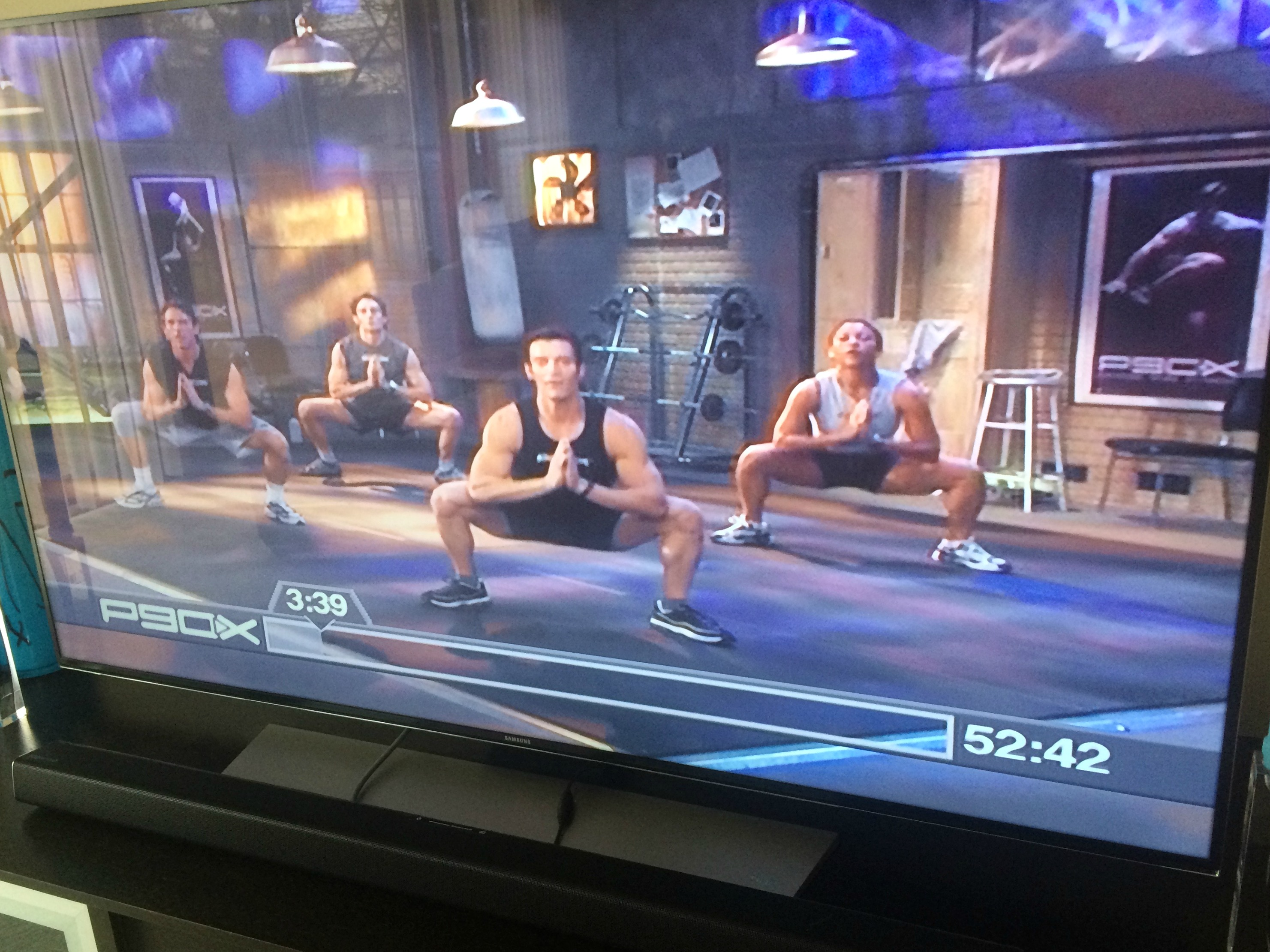 P90X plyometrics workout